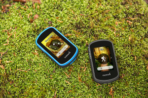 eTrex Touch 25, eTrex Touch 35, Geo-cache and Hiking profiles, Lifestyle, Product image, Rock, Moss, GERMANY
