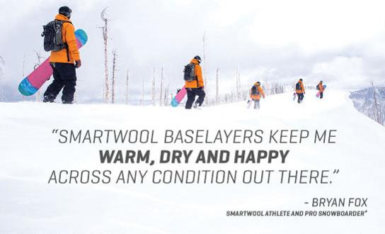 Gotowi na zimę? Ze SmartWool to łatwe!