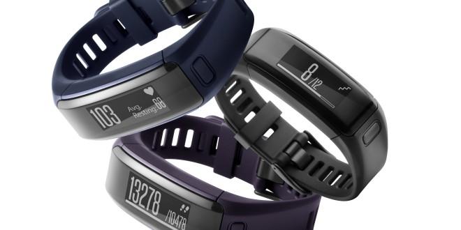 Garmin vívosmart® HR Opaska fitness z pomiarem tętna na nadgarstku