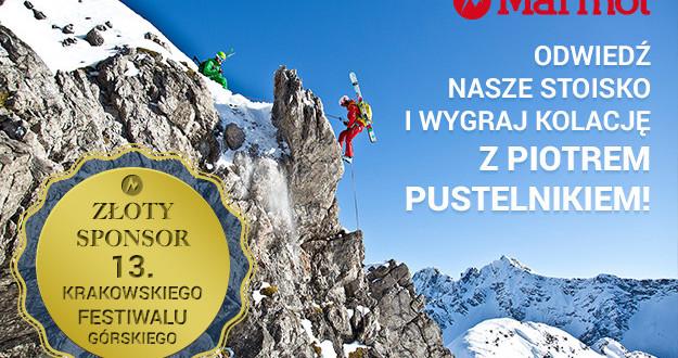 Marmot złotym sponsorem na 13. Krakowskim Festiwalu Górskim
