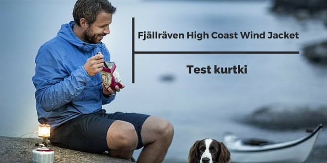 FJALLRAVEN Kurtka HIGH COAST WIND JACKET