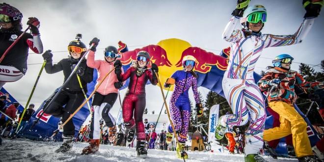 Szukasz pomysłu na zimowy weekend?  Rejestracja do udziału w red bull zjazd na krechę wciąż trwa!