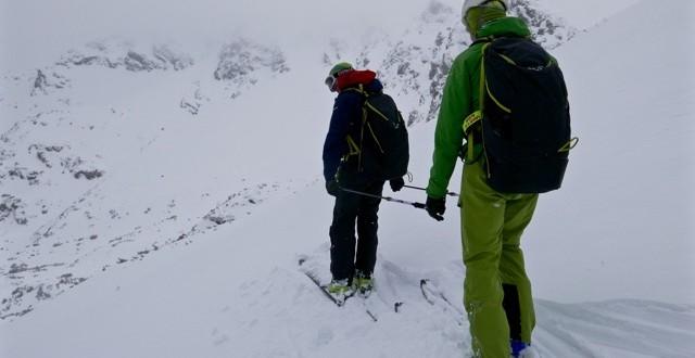 Niewidomy Jerzy Płonka w drodze na najwyższy szczyt Szwajcarii Dufourspitze