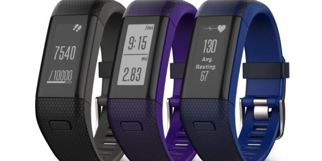 Garmin vívosmart HR+  opaska fitness z GPS i czujnikiem tętna