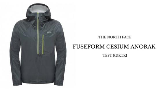 THE NORTH FACE Kurtka FUSEFORM CESIUM ANORAK