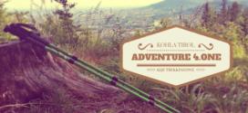 KOHLA TIROL Kije trekkingowe ADVENTURE 4.ONE