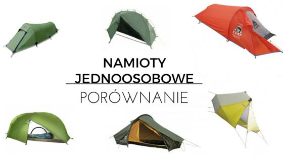 Namioty jednoosobowe – szybkie porównanie