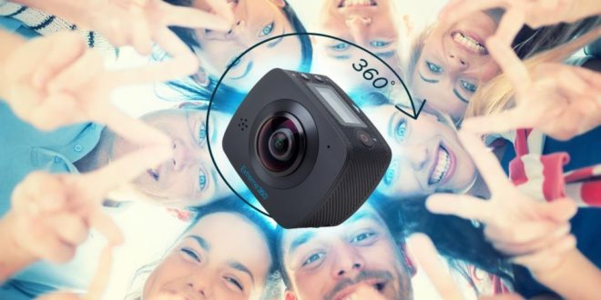 Extreme 360 – Goclever prezentuje  kamerę 360