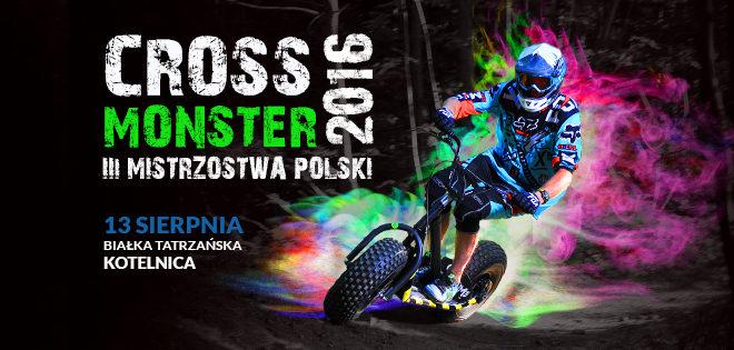 Na terenowych hulajnogach czyli Mistrzostwa Polski Cross Monster dla każdego