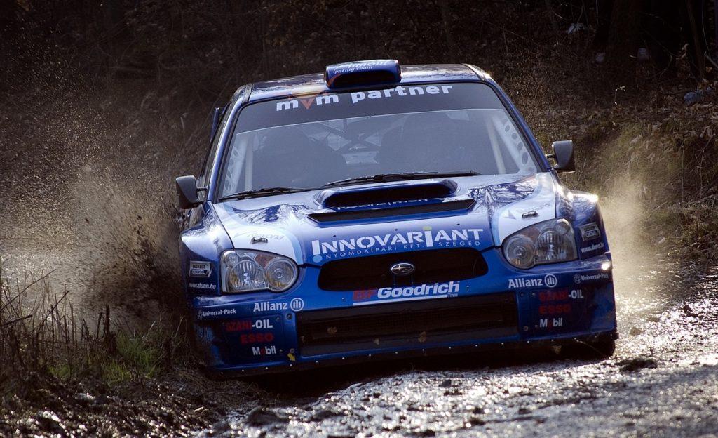 Jazda Subaru