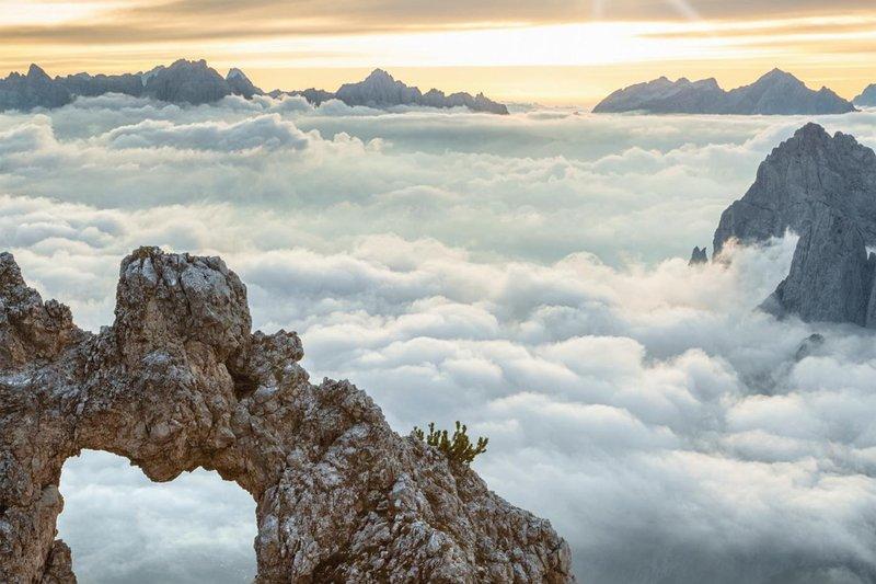 Ponad chmurami - fot. Der Atem der Berge