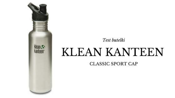 KLEAN KANTEEN Butelka CLASSIC SPORT CAP