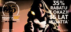 35-lecie marki Regatta czyli jak otworzyć drzwi dla każdego