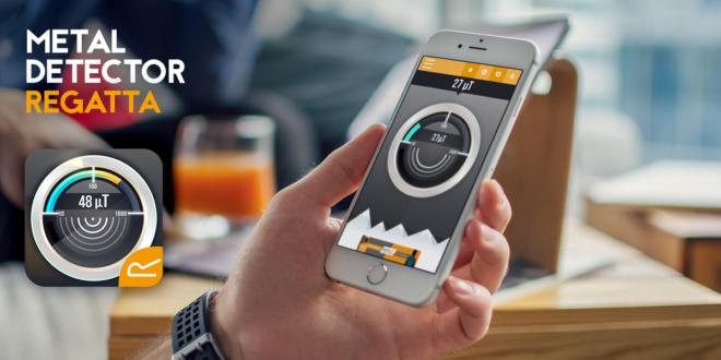 Wykrywacz metalu – kolejna aplikacja mobilna Regatta