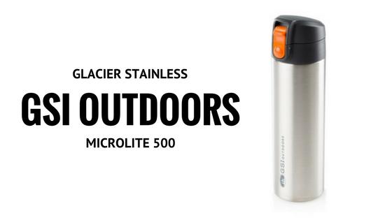 GSI OUTDOOR Termos GLACIER STAINLESS MICROLITE 500