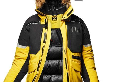 Kurtka Expedition Parka od Helly Hansen otrzymała nagrodę ISPO za technologię Light-Flex™