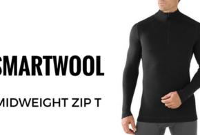 SMARTWOOL Koszulka MIDWEIGHT ZIP T