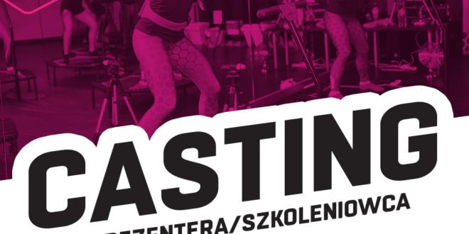 Casting dla instruktorów fitness