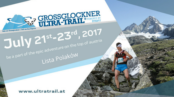 Lista Polaków na Grossglockner Ultra Trail 2017