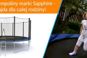 SAPPHIRE Trampolina 8FT 252 cm