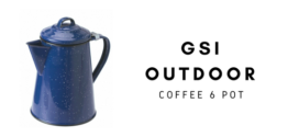 GSI OUTDOOR Imbryk do parzenia kawy COFFEE POT 6 CUP