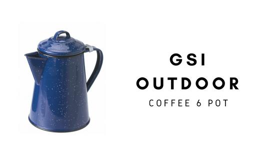 GSI OUTDOOR Imbryk do parzenia kawy COFFEE POT 6 CUP
