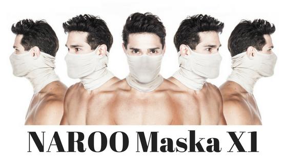 NAROO Maska treningowa X1