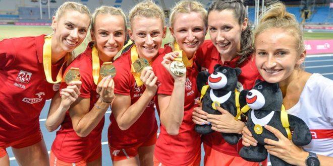 Polacy z 25 medalami na Uniwersjadzie