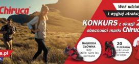 Konkurs z okazji 20-lecia marki Chiruca w Polsce