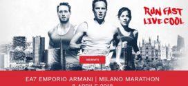 Jedź z nami na EA7 Milano Marathon!