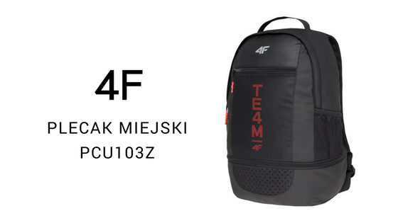 4F Plecak miejski PCU103Z