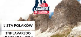 Lista Polaków startujących w TNF Lavaredo Ultra Trail 2018
