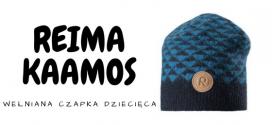 REIMA Wełniana czapka dziecięca KAAMOS
