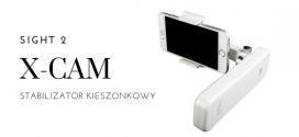 X-CAM Stabilizator kieszonkowy SIGHT 2