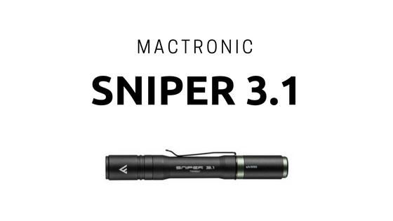 MACTRONIC Latarka SNIPER 3.1.