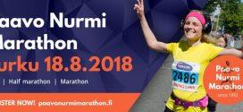 Paavo Nurmi Marathon 2018 – maraton w Turku (Finlandia)