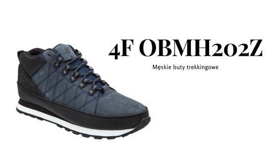 4F Męskie buty trekkingowe OBMH202Z