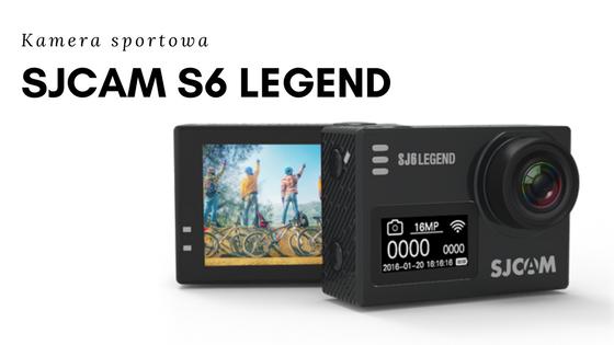 SJCAM Kamera sportowa SJ6 LEGEND
