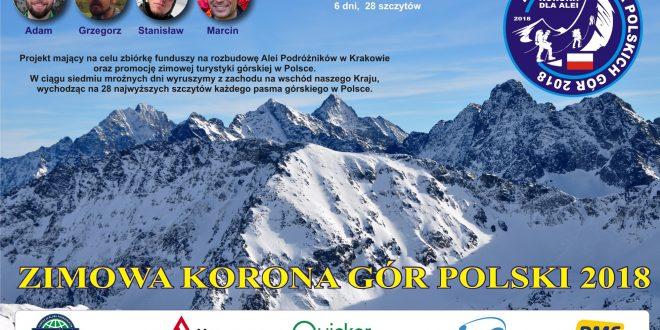 28 szczytów w 149 godzin – Korona Gór Polski zdobyta!