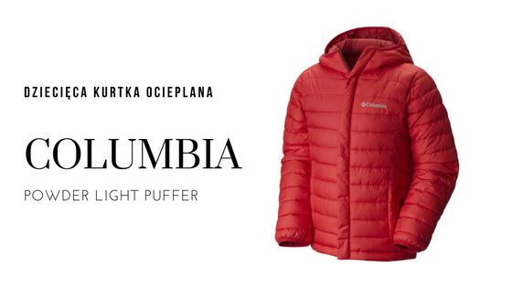 COLUMBIA Dziecięca kurtka ocieplana POWDER LIGHT PUFFER