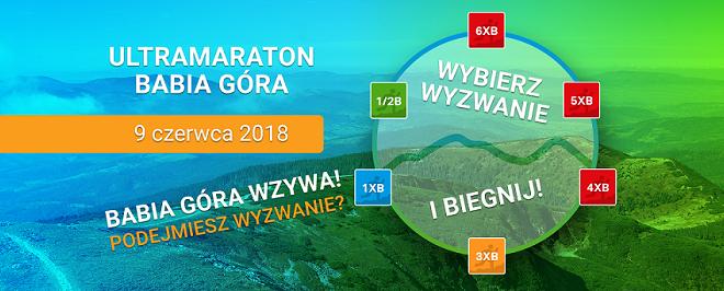 Ultramaraton Babia Góra 2018