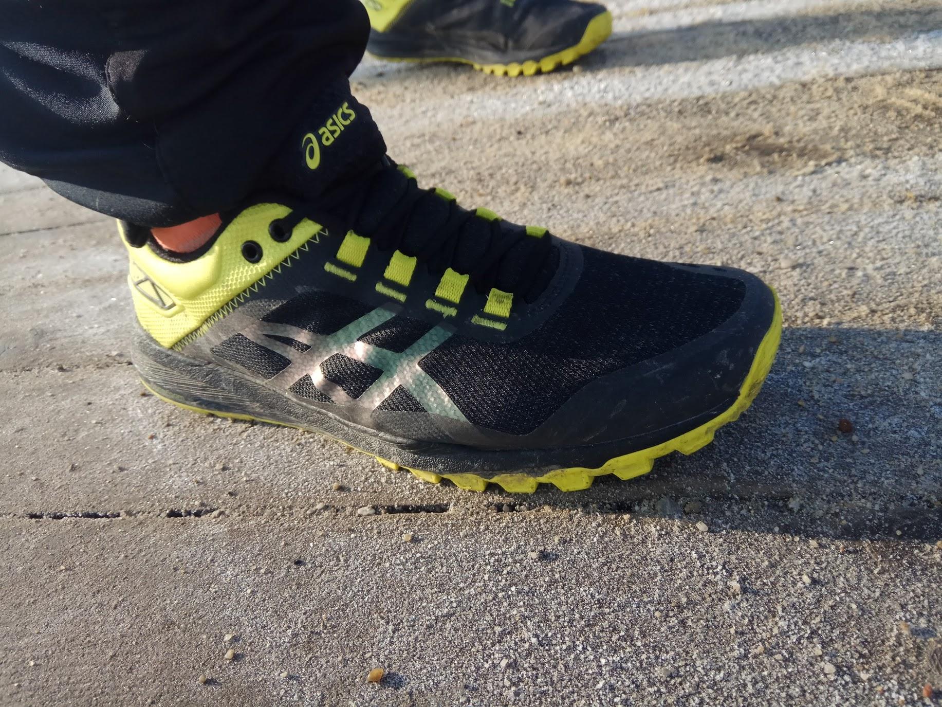 Asics GECKO XT męskie buty trailowe (czarno żółty)