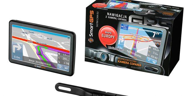Nawigacje samochodowe SmartGPS z kamerą cofania już w Polsce