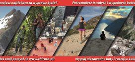 Chiruca Expedition – weź udział i otrzymaj buty dla swojej wyprawy!