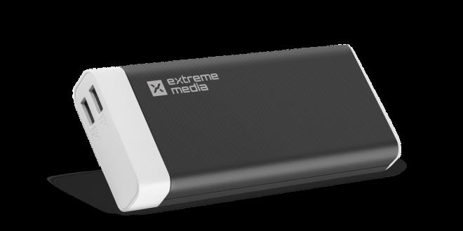 Extreme Media: pojemny powerbank z dwoma USB