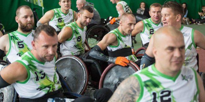 Trwa zwycięska passa Avalon Extreme Warszawa Drużyna w rugby na wózkach bezkonkurencyjna w turnieju w Niemczech