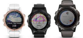 Garmin® prezentuje zegarek fēnix® 5 Plus, a także mapy, muzykę, funkcję Garmin Pay i nad-garstkowy pulsoksymetr jako dodatki do tej popularnej serii zegarków multisportowych z GPS.