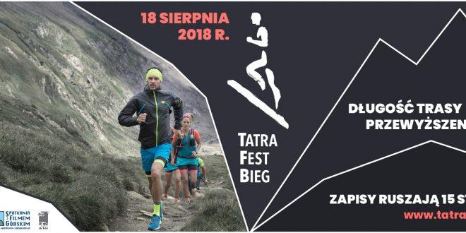 Tatra Fest Bieg – najbardziej wymagający bieg w Polsce w 2018 roku? Do startu zawodów pozostał tylko miesiąc!