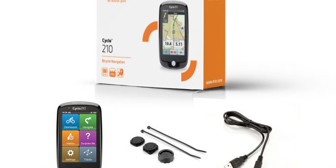 Zamiast smartfona – nawigacja Mio Cyclo 210