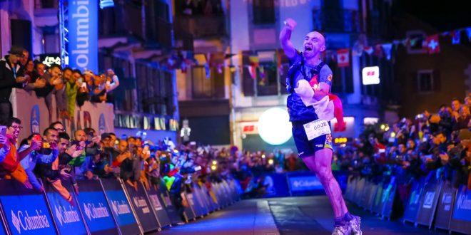Marcin Świerc, jako pierwszy Polak w historii,  wygrywa ultramaraton TDS podczas festiwalu biegów górskich UTMB